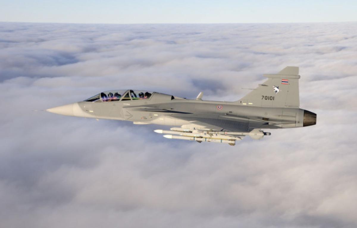 22a4ec89e1 Bővül-e a Thai Légierő Gripen-flottája? - JETfly